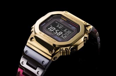 G-SHOCK替GMW-B5000系列換上顏色繽紛嶄新鈦金屬錶殼