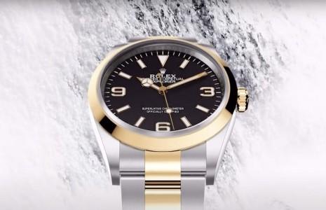 2021年勞力士Explorer除了新增半金錶殼,還有這個重大改變
