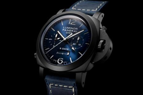 PAM01135是賞玩價值更高的沛納海黑陶瓷殼計時錶