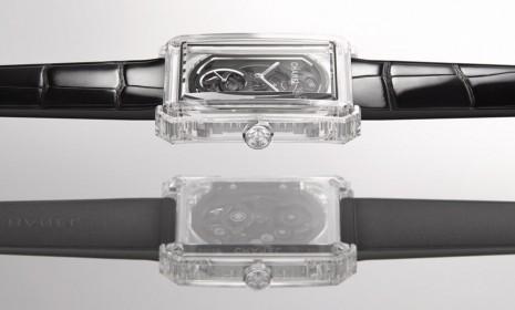 香奈兒Boy.Friend X-Ray水晶鏤空腕錶進階透明錶殼境界
