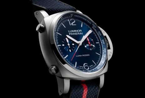 沛納海Luminor限量計時錶融合知名船隊聯名細節