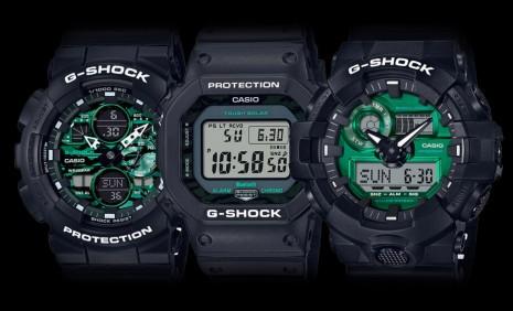 G-SHOCK加入綠面手錶戰場 新推Midnight Green系列