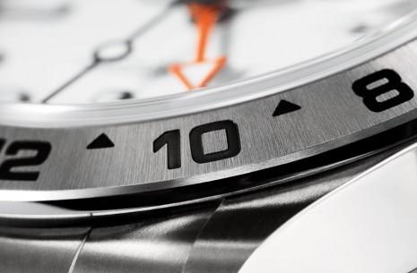 你曉得勞力士Explorer II探二大橙針和錶圈搭配的作用嗎?