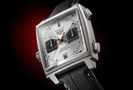 泰格豪雅Monaco賽車錶首發鈦金屬錶殼款式