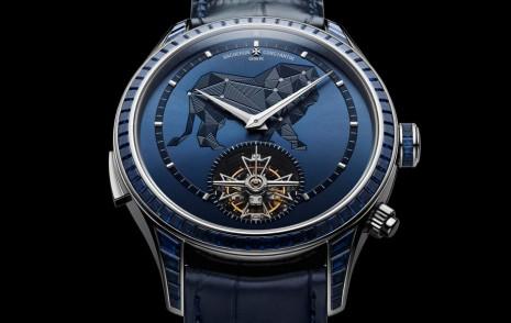 江詩丹頓閣樓工匠系列以獅子座為主題衍生高複雜功能手錶