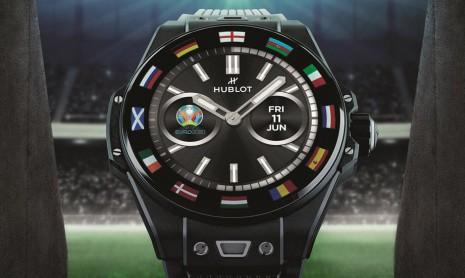 2020歐洲國家盃足球賽戰火再臨 宇舶推出Big Bang e智能錶聯名限量錶共襄盛舉