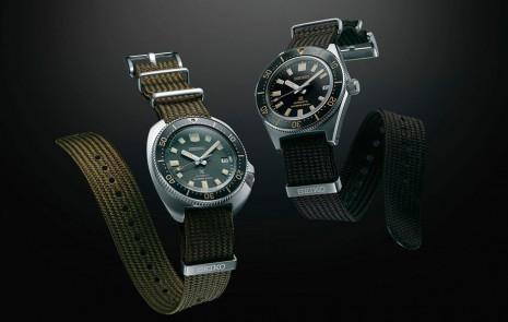 SEIKO Prospex復刻新作為品牌首度啟用編織錶帶設計潛水錶