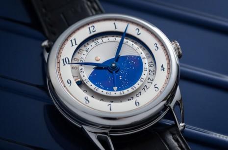 De Bethune最新兩地時間手錶DB25結合星空概念與日夜顯示大展實用性