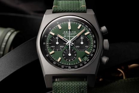 又現代又復古的真力時Chronomaster高震頻計時碼錶