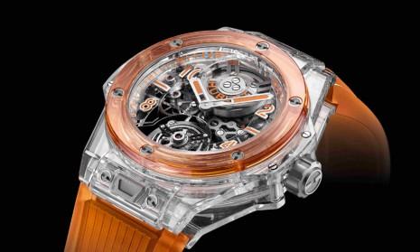 宇舶為2021年Only Watch拍賣打造雙色透明陀飛輪