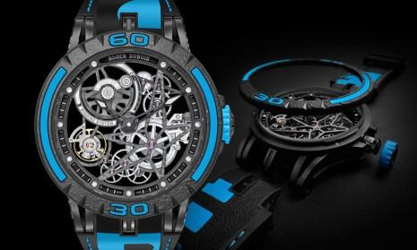 羅杰杜彼Excalibur倍耐力聯名錶結合嶄新快拆系統 錶帶、錶圈和錶冠可一次更換