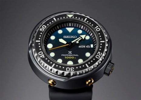 SEIKO復刻鮪魚罐頭慶祝品牌首款防水千米潛水錶問世35週年