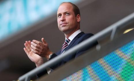 2020歐國盃威廉王子到場替英格蘭加油 手上的錶很有意義