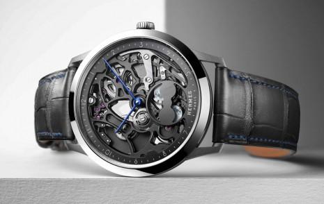 愛馬仕Slim d'Hermes系列首款鏤空錶誕生 擬真雙月相也好吸睛
