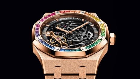 愛彼最吸睛皇家橡樹腕錶 不只彩虹圈還有更多工藝亮點