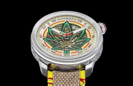 BOMBERG炸彈錶創作出全球首款以大麻為主題的限量錶