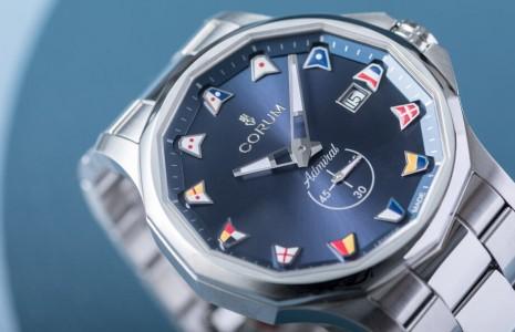 崑崙錶招牌海軍上將系列展現濃濃海洋與海事風格