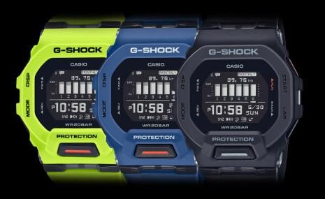 G-SHOCK方殼GBD-200有藍牙連線和計步器等功能 戴去跑步好方便