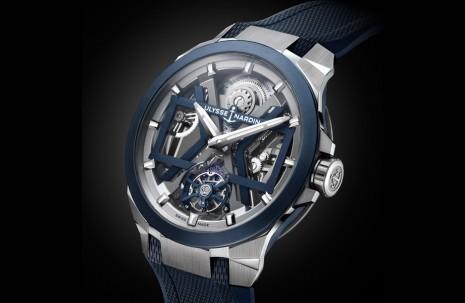 雅典錶Blast鏤空陀飛輪強力貫徹UN的X形設計理念