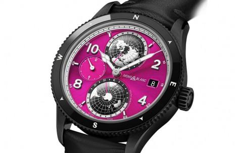 萬寶龍為乳癌防治月打造1858 Geosphere慈善拍賣手錶