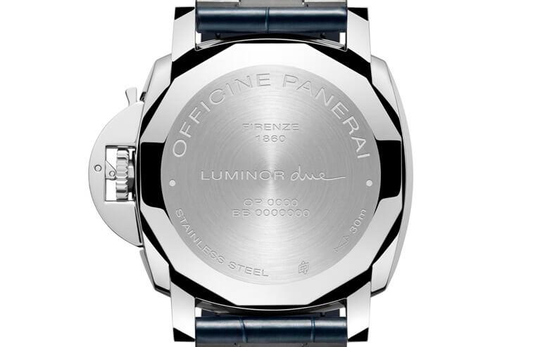 20万入主PANERAI 沛纳海薄型蓝面Luminor Due二连发插图3