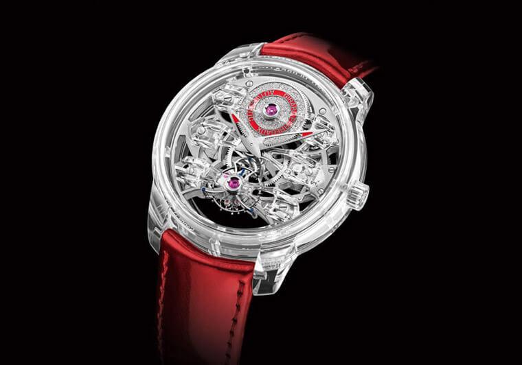 GP芝柏表高级复杂腕表展集结Quasar透明表壳和Laureato陀飞轮等工艺大作插图3