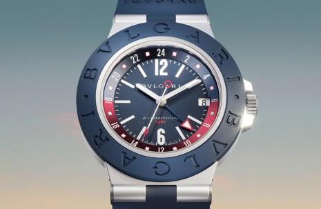 寶格麗Aluminium鋁殼運動錶新作融入兩地時間百事圈