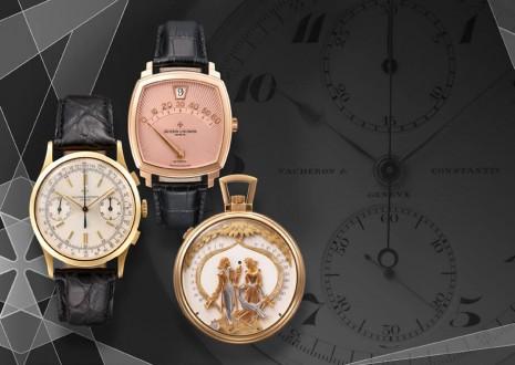 江詩丹頓於台北101專賣店展出8款20世紀代表性複雜工藝手錶或懷錶作品