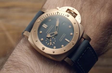 引領青銅錶潮流 評點沛納海五代目青銅錶PAM01074