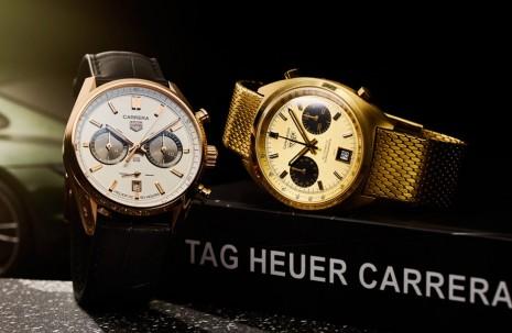 泰格豪雅於台北101展示多款Carrera及Monaco系列古董賽車錶 現場還有2021年話題新款可賞