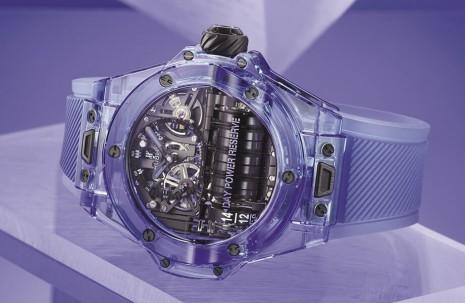 动力强大汽缸复杂机芯  宇舶大爆炸MP-11蓝宝石新作展现华丽未来