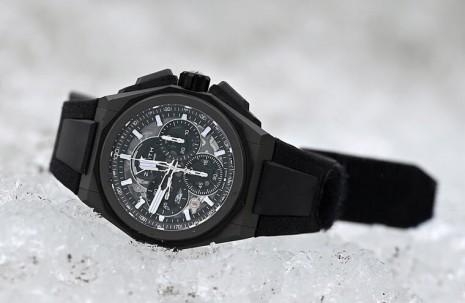 真力時DEFY Extreme手錶挺過在格陵蘭冰河賽車的嚴苛考驗
