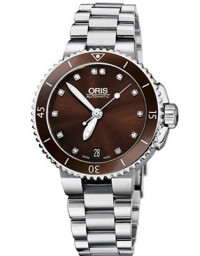 ORIS 豪利時 DIVING 潛水 系列733 7652 4192 8 18 01 P