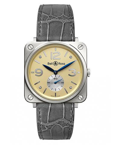 BELL & ROSS 柏萊士 BRS-WHGOLD-IVORY_D