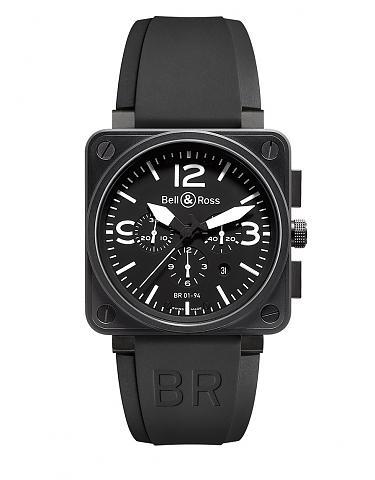 BELL & ROSS 柏萊士 BR0194-BL-CA