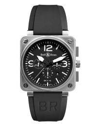 BELL & ROSS 柏萊士 BR 01 系列BR0194-BL-ST