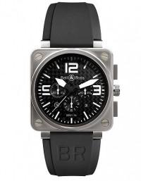 BELL & ROSS 柏萊士 BR 01 系列BR0194-TITANIUM