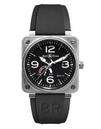 BELL & ROSS 柏萊士 BR 01 系列BR0197-BL-ST