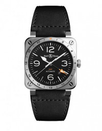 BELL & ROSS 柏萊士 BR 03 系列BR0393-GMT-ST/SCA