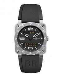 BELL & ROSS 柏萊士 BR 03 系列BR0392-AVIA-ST
