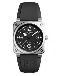 BELL & ROSS 柏萊士 BR 03 系列BR0392-BLC-ST