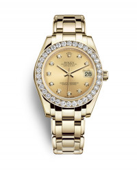 ROLEX 勞力士 PEARLMASTER 34 系列81298-0005